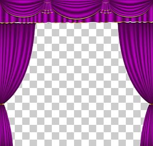 Theater Drapes And Stage Curtains Wyckoff Family YMCA Purple PNG