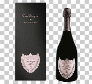 Champagne Wine Moët & Chandon Rosé Dom Pérignon PNG