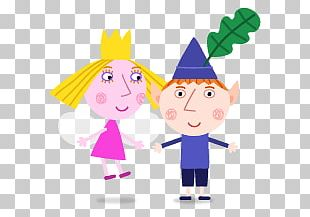 Ben And Holly Together PNG