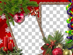 Christmas Card Frame PNG