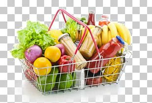 Grocery Store Basket Stock Photography PNG