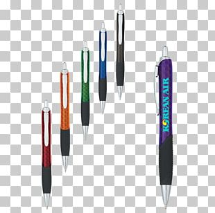 Ballpoint Pen Carbon Fibers PNG