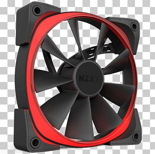 Computer Cases & Housings Nzxt RGB Color Model Computer Fan Computer System Cooling Parts PNG