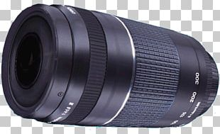 Camera Lens Canon EF Telephoto Zoom 75-300mm F/4-5.6 III USM Teleconverter PNG