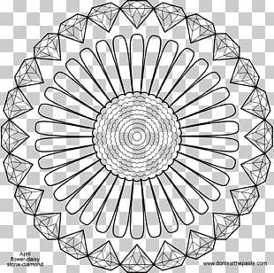 Coloring Book Diamond Mandala Food Coloring Drawing PNG