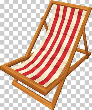 Deckchair Garden Furniture Folding Chair PNG