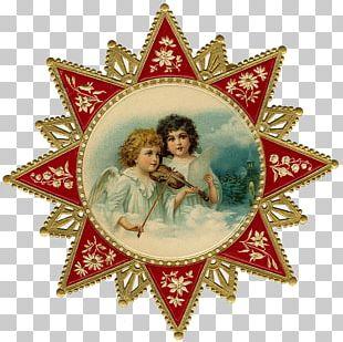 Christmas Ornament Angel Santa Claus PNG