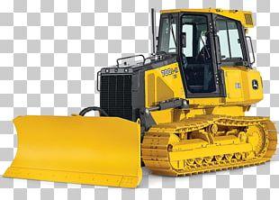John Deere Caterpillar Inc. Bulldozer Backhoe Heavy Machinery PNG