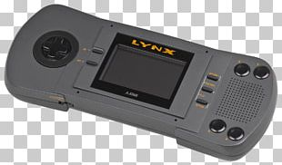 Atari Lynx Handheld Game Console Video Game Consoles Video Games PNG