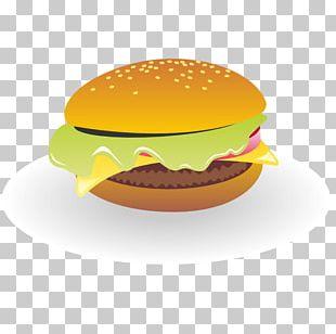 Cheeseburger Hamburger French Fries Fast Food Pizza PNG