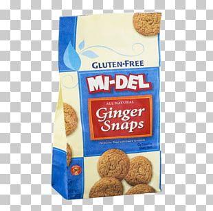 Ginger Snap Breakfast Cereal Shortbread Gluten-free Diet PNG