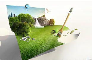 Creativity Web Banner Advertising PNG