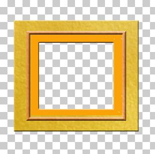 Frame Yellow Area Pattern PNG