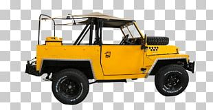 Yellow Jeep PNG