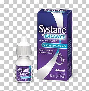 Dry Eye Syndrome Systane Balance Lubricating Eye Drops Eye Drops & Lubricants PNG