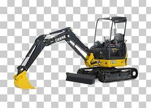 John Deere Komatsu Limited Compact Excavator Heavy Machinery PNG