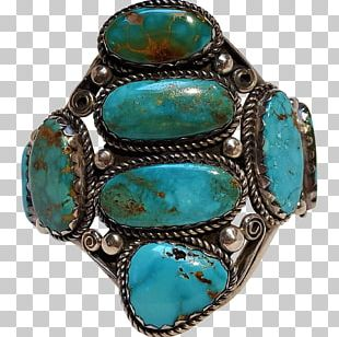 Turquoise Body Jewellery Silver Bracelet PNG