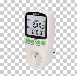 Wattmeter Energy Electric Current Electricity Meter Gauge PNG