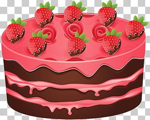 Birthday Cake Black Forest Gateau Chocolate Cake PNG