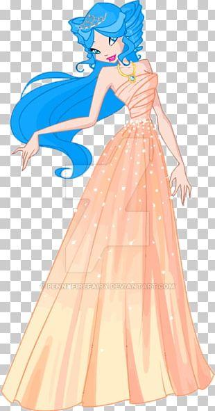 Ball Gown Art Costume Design Dress PNG