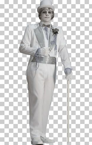 Halloween Costume Ghost Groom Costume Party PNG