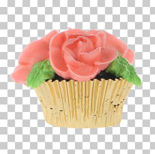 Cupcake Buttercream Flavor Cut Flowers Flowerpot PNG