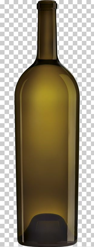 Glass Bottle Red Wine PNG