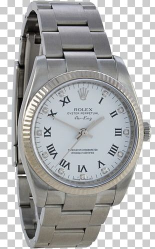 Watch Strap Rolex Platinum PNG