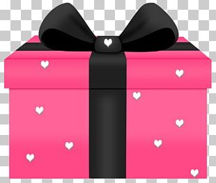 Gift Pink Valentine's Day PNG