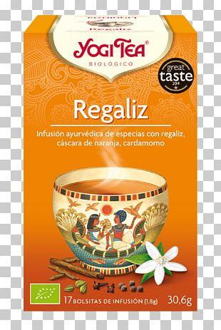 Yogi Tea Liquorice Aufguss Masala Chai PNG