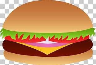 Cheeseburger Hamburger Fast Food French Fries Bacon PNG