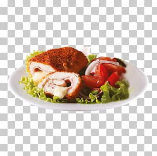 Le Cordon Bleu Chicken As Food Ham Salad PNG