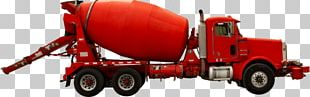 Car Cement Mixers Truck Heavy Machinery Concrete PNG