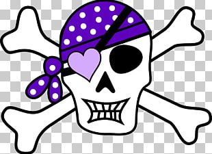 Piracy Skull And Crossbones Jolly Roger PNG