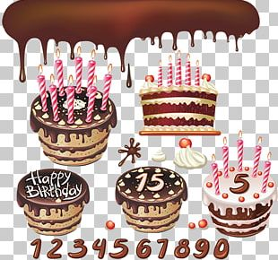 Birthday Cake Chocolate Cake Shortcake PNG