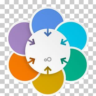 Infographic Marketing Illustration PNG