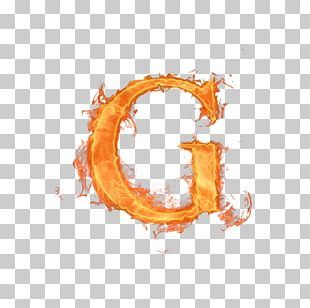 Letter Alphabet G Fire PNG
