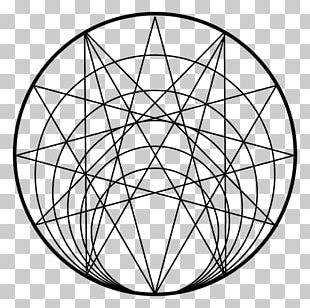 Sacred Geometry Circle PNG