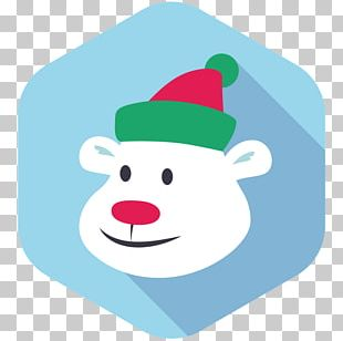 Santa Claus Christmas Ornament Headgear PNG