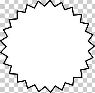Starburst White PNG