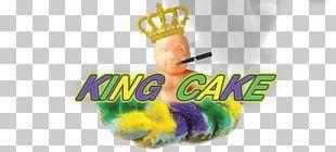 King Cake Logo Brand Desktop Mardi Gras PNG