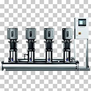 Submersible Pump Pumping Station Water Supply Grundfos PNG