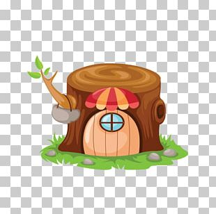 Fairy Tale Cartoon House PNG