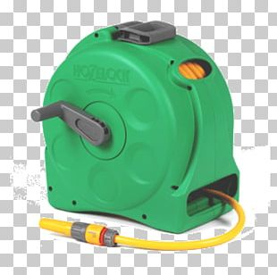 Garden Hoses Hozelock Compact 2in1 Reel With 25m Hose Hose Reel PNG