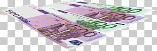 Cash Euro Banknotes Money PNG