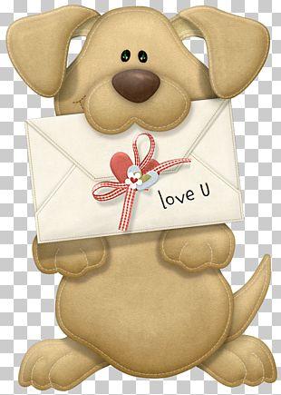 Valentine Puppy Dog Valentine's Day PNG