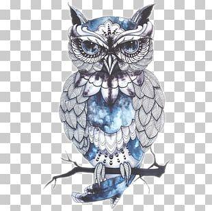 Owl Tattoo Artist Bird Drawing PNG