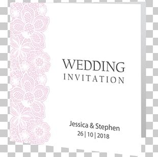 Wedding Invitation Paper Lace Letter PNG