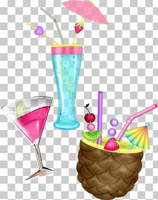 Cocktail Garnish Blue Hawaii Ice Cream Cones Martini PNG