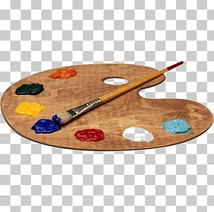 Palette Watercolor Painting PNG